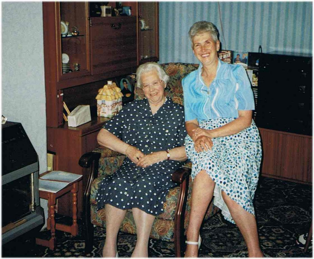 Mum and Eveline 1998